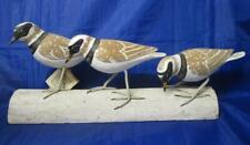 Archipelago Carved Birds RINGED PLOVER Block
