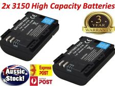 TWO 3150mAh LP-E6 Battery for Canon EOS 5D Mark III II 6D 60D 7D Mark II 70D 80D