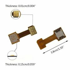 Hybrid Dual SIM Card Micro Adapter for Android Nano to NAMO For Huawei Samsung.