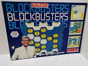 Blockbusters Board Game By Waddingtons Vintage Classic TV Quiz Show 1980's VGC