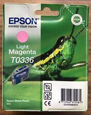 EPSON STYLUS PHOTO 950 LIGHT MAGENTA Original Ink Print Cartridge T0336 - New