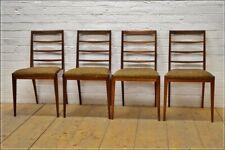 vintage teak dining chairs x 4 McIntosh danish design mid century  UK DELIVERY