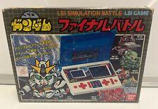 CONSOLE SD GUNDAM FINAL BATTLE LSI HANDHELD VINTAGE NTSC JAPAN COMPLETE RARE