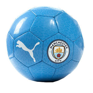 Puma Manchester City 2021/22 FTBLCORE Fan Fußball Ball Blau - Größe 4