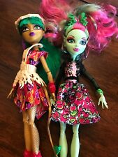 Monster High Dolls Venus McFlytrap Mattel Daughter Ghouls Getaway Dragon Pair