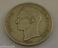 Venezuela 1926 / Silber Bolivar Gram 25 /  Stempelglanz