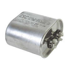Capacitor Oval Single Section 5 MFD 370/440VAC