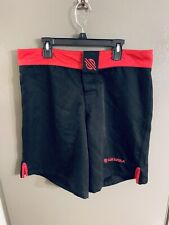 Sanabul Mens Shorts 32 Euc Black/Red