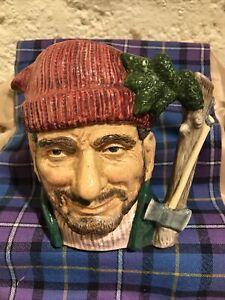 Royal Doulton Character Toby Jug The Lumberjack Large Size D6610
