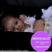 Ethnic Reborn Doll kit ~ Biracial AA - Vinyl unpainted Reborn Shyann Kit