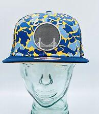 Golden State Warriors The City Camo New Era 9FIFTY Snapback Mesh Trucker Hat NBA