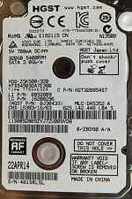 HGST 320 GB HTS545032A7E380 Z5K500-320 22APR14 PN:0J30433 MLC:DA5352 Festplatte
