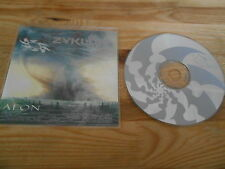 CD Metal Zyklon-Aeon (9) canzone PROMO Candlelight/PLASTIC HEAD
