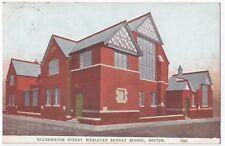 Lancashire; Ullswater St Wesleyan Sunday School, Bolton PPC, 1905 PMK