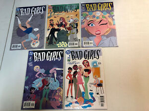 Bad Girls (2003) #1 2 3 4 5 1-5 (VF/NM) Complete Set