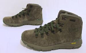 "Danner Men's Mountain 600 4.5"" Suede Hiking Boots JQ2 Dark Brown Size US:10.5"