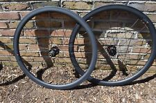 NEW Novatec Carbon 38mm 25mm road cx Disc Tubular Wheelset 1470g thru axle 11sp