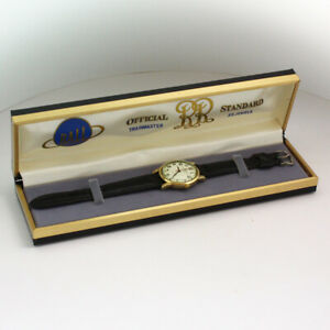 Vintage Ball Trainmaster Automatic 2632 ETA 35mm Gold Filled Wristwatch in Box