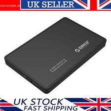 "ORICO 2.5"" Inch USB3.0 External SATA III Hard Drive HDD/SSD Enclosure Caddy Case"