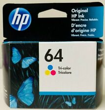 New Genuine HP 64 Color Ink Cartridges Envy 6220 6230 6232 6252 6255