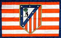 Atletico Madrid Flag 3x5 ft White Sport Banner Spain Futbol Soccer Bandera