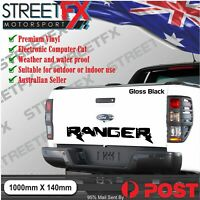 Ranger Tailgate Sticker Decal for Ford L XLT 4x4 4WD Raptor Wildtrak