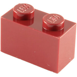 LEGO 3004 1X2 BRICK WITH BOTTOM TUBE - COLOURS A-L, SELECT QTY - BESTPRICE NEW