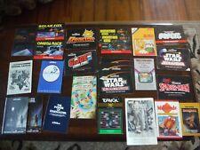 Lot of 26 Atari 2600 Manuals Star Wars GI Joe River Raid Turmoil