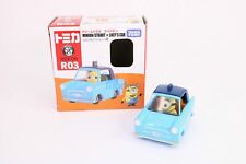 Takara Tomy Dream TOMICA Ride On R-03 Minions & Lucy's Cat Diecast Toy Car