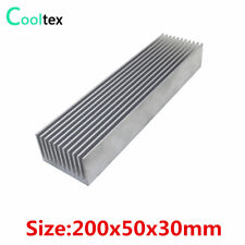 200x50x30mm Aluminum Radiator High-power HeatSink For Electronic Chip  Radiator