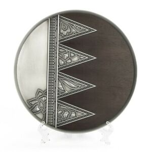 Royal Selangor Hand Finished Gembira Collection Pewter Gembira Plate SM Gift