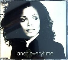 JAPAN CD MAXI SINGLE JANET JACKSON EVERYTIME RARE EDITION JAPON COLLECTOR 1998