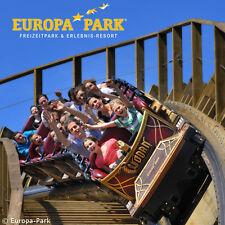 Europapark Rust 1 Tag Eintritt + Übernachtung Hotel Hirsch Kehl Kork 2 Personen