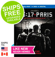 15:17 To Paris (Blu-Ray + Case + Slipcover) NO DVD or DIGITAL ✴NEVER VIEWED✴
