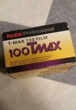1 Roll Kodak TMAX 100 ISO Professional Black White Print Film 03/2007 USA 24 EXP