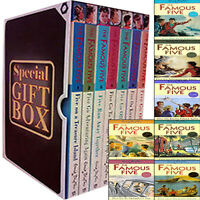 Enid Blyton Famous Five Collection 7 Books Set Gift Wrapped Slipcase Brand New