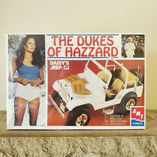 AMT Dukes of Hazzard Daisy's Jeep Golden Eagle CJ 1/25 Model #30163