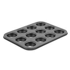 Winco Cmf-12M, 12 Cup Mini Muffin Pan, 3/4oz, Non-stick, Carbon Steel