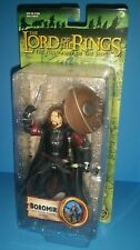 Toy Biz Lord of the Rings Fellowship Ring Boromir Battle Attack Action SEALED