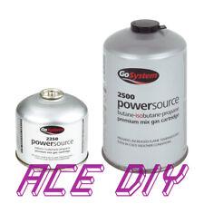 Butane Propane Gas Mix   EN 417 Cartridge Threaded  PowerSource 2250 / 2500 Fuel
