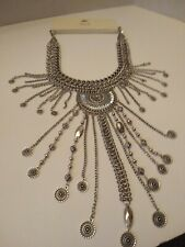 NWT WOMEN'S  BKE BUCKLE STATEMENT NECKLACE