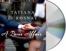 A Paris Affair by Tatiana De Rosnay (2015, CD, Unabridged)