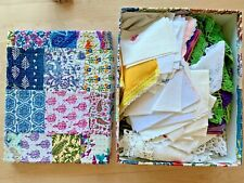 New Listingvintage Huge Lot 6lbs Linen Textiles Doilies Embroidered napkins & Lace Gloves