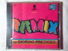CD REMIX by GIORGIO PREZIOSO COPERTINA ROSA REXANTHONY PLEXUS SIGILLATO SEALED!