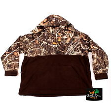 DRAKE WATERFOWL MST EQWADER DELUXE QUARTER-ZIP COAT REALTREE MAX-4 CAMO 3XL