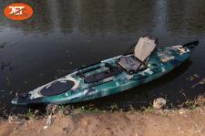 Jetocean 3.6M 12ft Fishing Kayak with Aluminium Seat Melbourne Forest Camo