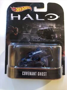 Hot Wheels Halo Covenant Ghost Mattel 1:64 Scale Diecast Car Movie Theme NEW