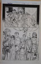 MICHAEL ZULLI / AL WILLIAMSON original art, LONGSHOT #1, pg 31,11x17,1998, X-men Comic Art