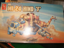 """Amt/Ertl 1:72 Mil Mi-24 Hind """"F"""" Model Helicopter Kit! -Free Shipping"""