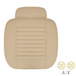 Breathable Bamboo Charcoal Car Seat Cushion Cover Full Surround Protect Pad BE B